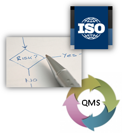 risks management in QMS Processes